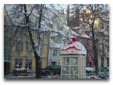 Латвия: информация для туристов, фото: Первый снег