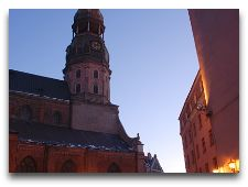 Латвия: информация для туристов, фото: Домский собор