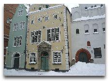 Латвия: информация для туристов, фото: Три брата Риги зимой