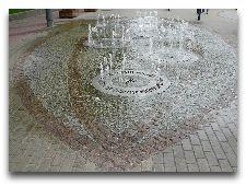 Латвия: информация для туристов, фото: Фонтан в Юрмале