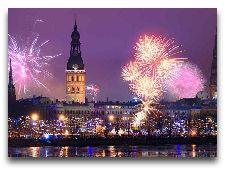 Латвия: информация для туристов, фото: Новогодняя Рига