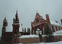 Литва: общая информация, фото: Костел святой Анны зимой