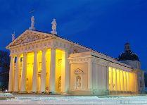 Литва: общая информация, фото: Кафедральный собор Вильнюс