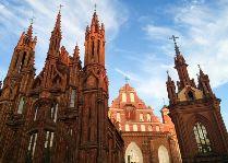 Литва: общая информация, фото: Костёл святой Анны
