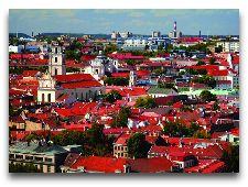 Литва: общая информация, фото: Панорама Вильнюса