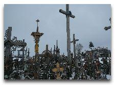 Литва: общая информация, фото: Гора крестов зимой