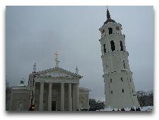 Литва: общая информация, фото: Кафедральный собор зимой