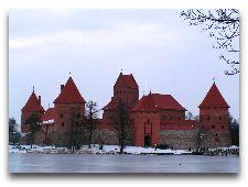 Литва: общая информация, фото: Замок Тракай