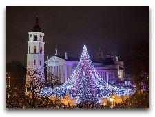 Литва: общая информация, фото: Новогодний Вильнюс