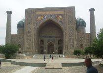 Узбекистан: общая информация, фото: Медресе в Самарканде