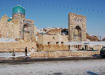 Узбекистан: общая информация, фото: Зимний Самарканд