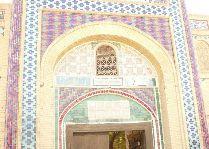 Узбекистан: общая информация, фото: Вход в летний дворец Бухарского Эмира