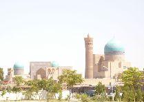 Узбекистан: общая информация, фото: Панорама Минарета Калян