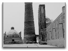 Узбекистан: общая информация, фото: Зима в Бухаре