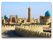 Узбекистан: общая информация, фото: Панорама Хивы