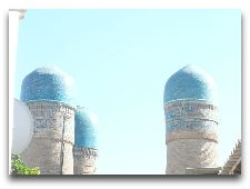 Узбекистан: общая информация, фото: Панорама Четерех минаретов