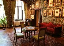 Замок Алатскиви: Жилая комната