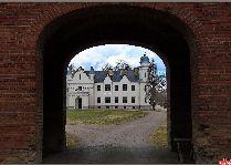 Замок Алатскиви: Въезд в замковый двор
