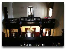 Замок Алатскиви: Балкон второго этажа