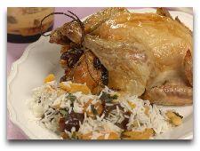 Кухня Армении: Амич фаршированная курица или индейка