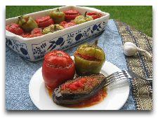 Кухня Азербайджана: Долма в овощах