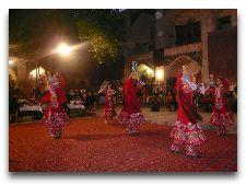 Шоу в медресе Надир Диван Беги