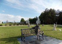 Центр Рух-Ордо: Скульптура Чингиза Айтматова