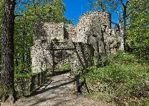 Замок Bolczow в Janowicach Wielkich