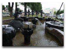 Достопримечательности Бреста: Музеи и Памятники: Фонтан Юность