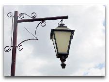 Достопримечательности Бреста: Музеи и Памятники: Сквер старых фонарей