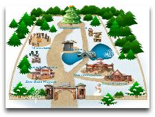 Беловежская пуща: План усадьбы