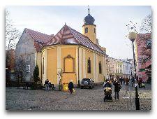 Достопримечательности города: Церковь Святых Апостолов Петра и Павла