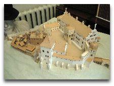 Достопримечательности Гродно: Замки и Храмы: Макет Старого замка