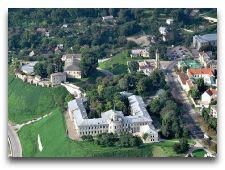 Достопримечательности Гродно: Замки и Храмы: Вид сверху Новый замок