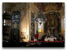 Достопримечательности Несвижа: Интерьер собора