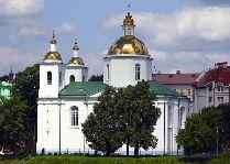 Достопримечательности Полоцка: Богоявленский собор