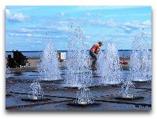 Достопримечательности Пярну: Променад у моря
