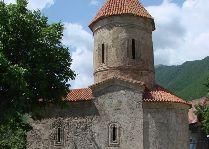 Достопримечательности Шеки и его окрестностей: Албанский храм Святого Елисея, Киш