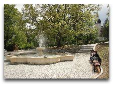 Достопримечательности курорта: Фонтан в Курортном парке