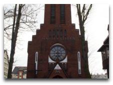 Достопримечательности города: Костел Пресвятой Девы Марии