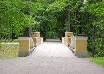 Достопримечательности Тарту – на холме Тоомемяги: Инглисильд (Ангельский мост)