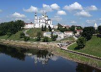 Достопримечательности Витебска: Свято-Успенский кафедральный собор.