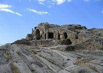 Уплисцихе, пещерный город