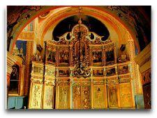 Достопримечательности Молдавии: Иконостас в монастыре Кэприяна
