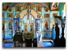 Достопримечательности Молдавии: Иконостас в онастыре Ципова