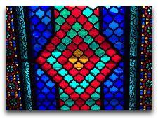 Дворец Шекинских Ханов: Витраж