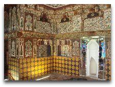 Дворец Шекинских Ханов: Зал отдыха