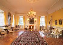 Замок Эгесков: Желтый зал