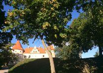 Фото замка Бауска