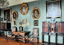 Замок Фредериксборг: Залы замка